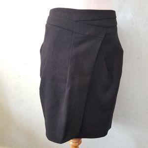 Zara overlay skirt